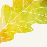 Eenvoudig Autumn Background Royalty-vrije Stock Foto's