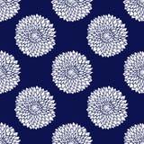 Eenvoudig blauw patroon Stock Foto's