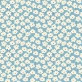 eenvoudig bloemenpatroon Royalty-vrije Stock Afbeeldingen