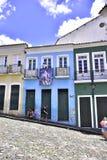 Eenvoudig Brazilië Pelourinhostad van Salvador royalty-vrije stock afbeelding