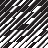 Eenvoudig dynamisch lijnen naadloos patroon stock illustratie