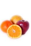 Eenvoudig fruit Stock Fotografie