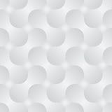 Eenvoudig geometrisch vectorpatroon - abstracte vormen  Royalty-vrije Stock Afbeeldingen