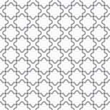 Eenvoudig geometrisch vectorpatroon - vloer Royalty-vrije Stock Foto's