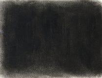 Hand getrokken zwarte achtergrond in krijtpastelkleur Stock Foto's