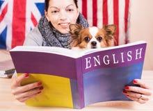 Eenvoudig het leren taalconcept royalty-vrije stock foto's