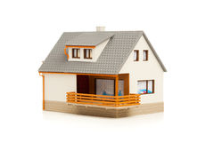 Eenvoudig huis royalty-vrije stock afbeelding