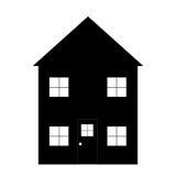 Eenvoudig Huisoverzicht Royalty-vrije Stock Afbeeldingen