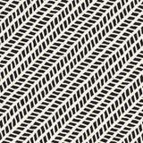 Eenvoudig inkt geometrisch patroon Zwart-wit zwart-witte slagenachtergrond Hand getrokken inkttextuur voor uw designr Royalty-vrije Stock Afbeeldingen
