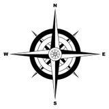 Eenvoudig kompas Royalty-vrije Stock Foto