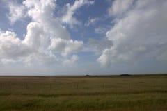Eenvoudig landschap van zuidelijk IJsland Royalty-vrije Stock Fotografie