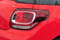 Het moderne licht van de autostaart Stock Afbeelding