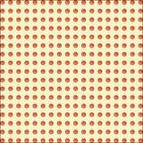 Eenvoudig naadloos patroon op een rij Royalty-vrije Stock Foto's