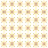 Eenvoudig naadloos stikkend patroon op een witte achtergrond Royalty-vrije Stock Afbeelding