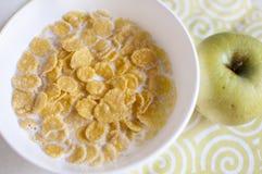 Eenvoudig ontbijt. Stock Afbeelding