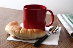 Eenvoudig Ontbijt royalty-vrije stock afbeelding