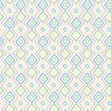 Eenvoudig pastelkleur naadloos patroon Royalty-vrije Stock Foto
