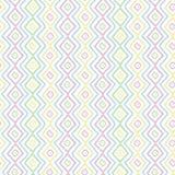 Eenvoudig pastelkleur naadloos patroon Royalty-vrije Stock Afbeeldingen
