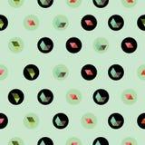 Eenvoudig patroon Stock Afbeeldingen