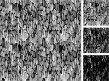 Eenvoudig patroon van ruwe het uitbroeden grunge textuur Stock Foto