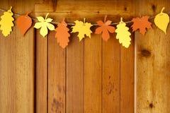 Eenvoudig, rustiek van de de stijldaling van het land van het de Dankzeggingshuis de decoratiedocument stock foto