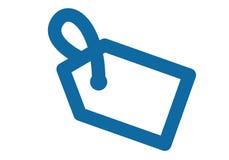 Eenvoudig teken die op korting of verkoop, markering op het product wijzen Ontwerpen van voorraad de vectorclipart Royalty-vrije Stock Afbeeldingen