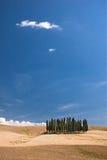 Eenvoudig Toscanië Stock Afbeeldingen