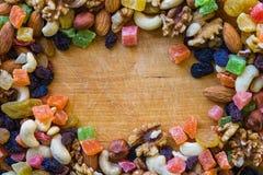 Eenvoudig vegetarisch voedsel stock fotografie
