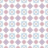 Eenvoudig vlak bloempatroon vector illustratie