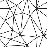 Eenvoudig lijnpatroon stock illustratie