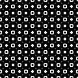 Eenvoudig zwart-wit geometrisch naadloos patroon Royalty-vrije Stock Afbeeldingen
