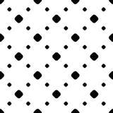 Eenvoudig zwart-wit stip minimalistisch patroon Royalty-vrije Stock Foto