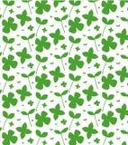 Eenvoudige aardige patroonillustratie van vers groen gras, blad, minimalism Kan voor prentbriefkaaren, vliegers en affiches worde stock illustratie