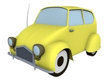 Eenvoudige auto Royalty-vrije Stock Fotografie