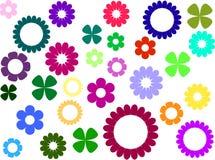 Eenvoudige bloemen stock foto's