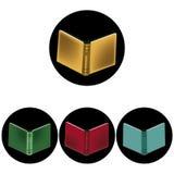 Eenvoudige boeken Vector Illustratie