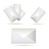 Eenvoudige envelop Stock Foto