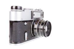 Eenvoudige filmcamera stock foto