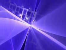 Eenvoudige fractal achtergrond - abstract digitaal geproduceerd beeld Royalty-vrije Stock Afbeeldingen