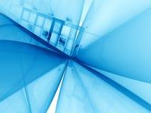 Eenvoudige fractal achtergrond - abstract digitaal geproduceerd beeld Royalty-vrije Stock Afbeelding