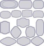 Eenvoudige frames Royalty-vrije Stock Afbeelding