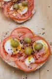 Eenvoudige, gezonde en voedzame maaltijd Stock Afbeeldingen