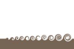 Eenvoudige golven Stock Foto's