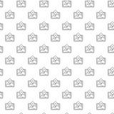 Eenvoudige gps, plaats, routekaart, navigator naadloos patroon met diverse pictogrammen en symbolen op witte vlakke achtergrond vector illustratie