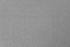 Eenvoudige grijze canvastextuur Royalty-vrije Stock Foto's