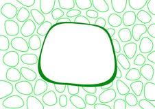 Eenvoudige groene abstracte achtergrond stock afbeeldingen