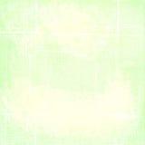 Eenvoudige Groene Versleten Gevouwen Grunge-Document Achtergrond Royalty-vrije Stock Foto's