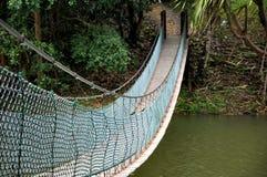 Eenvoudige Hangbrug Royalty-vrije Stock Foto's