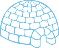 Eenvoudige iglo Royalty-vrije Stock Afbeelding