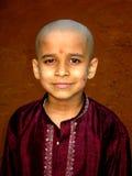 Eenvoudige Indische Jongen Royalty-vrije Stock Afbeelding